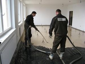 Realizace andhydritové podlahy Brno