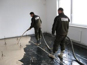 Lité cementové podlahy Brno